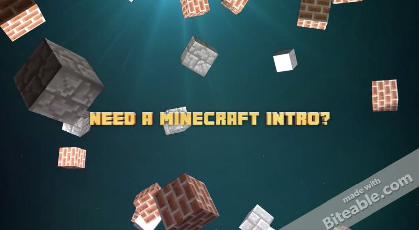 Minecraft Intro Video Maker - Minecraft 2d spielen ohne download
