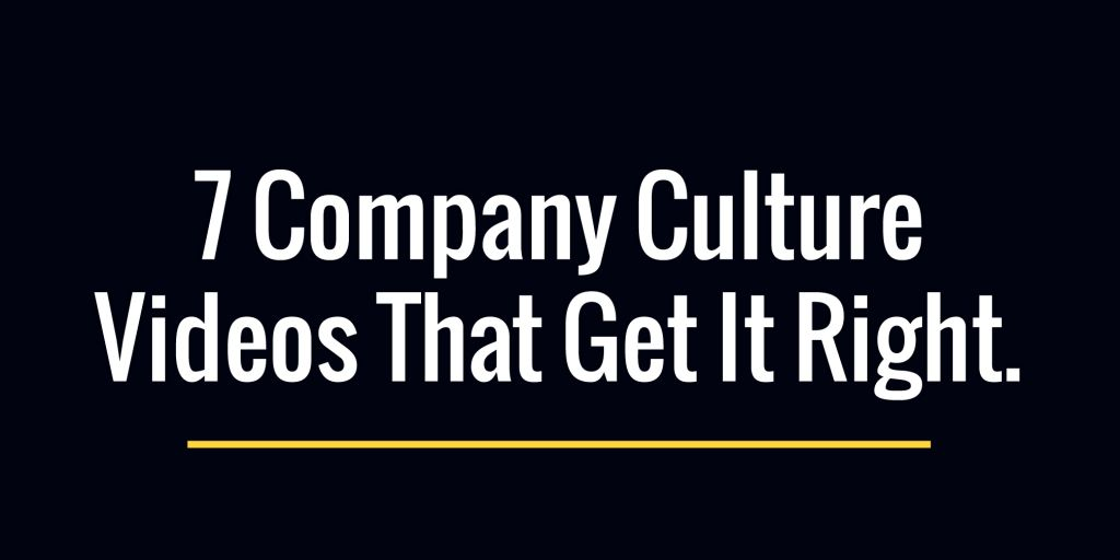 7 Company Culture Videos That Get It Right | Biteable