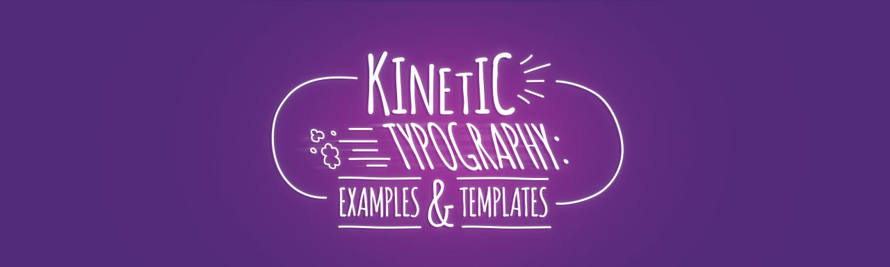 kinetic typography: examples & templates - biteable, Modern powerpoint