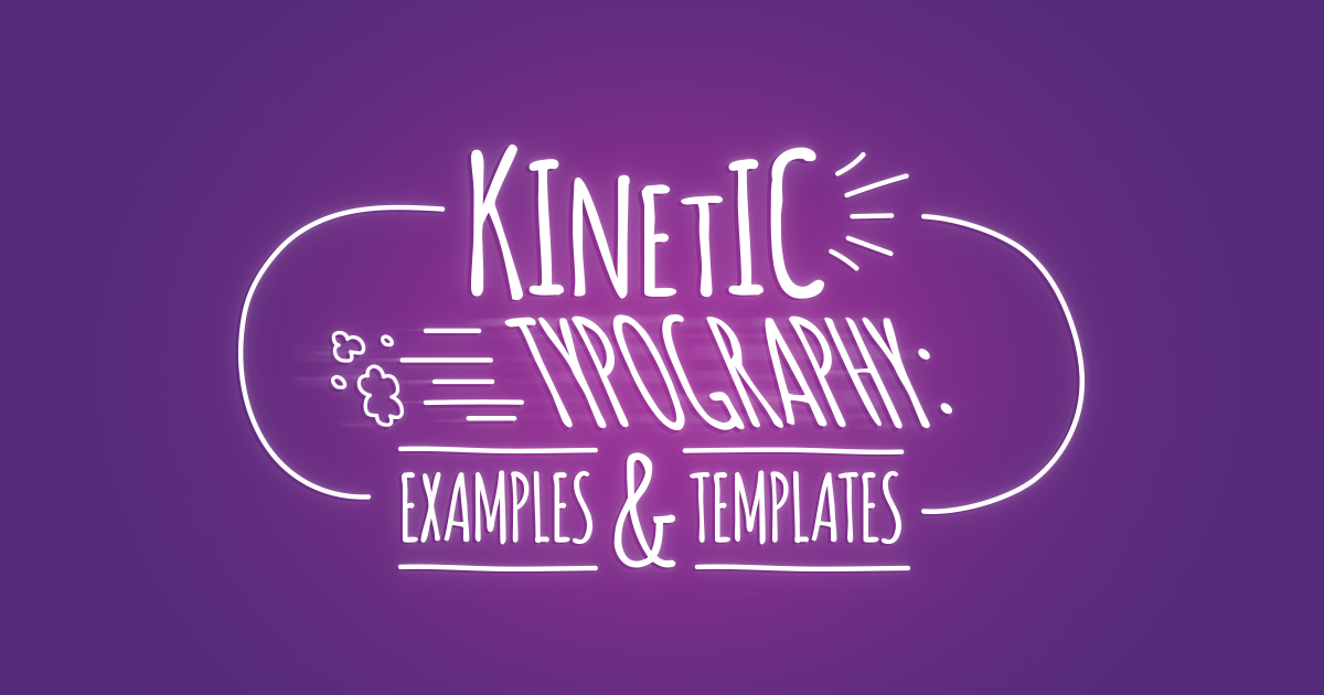 Kinetic Typography: Examples & Templates | Biteable