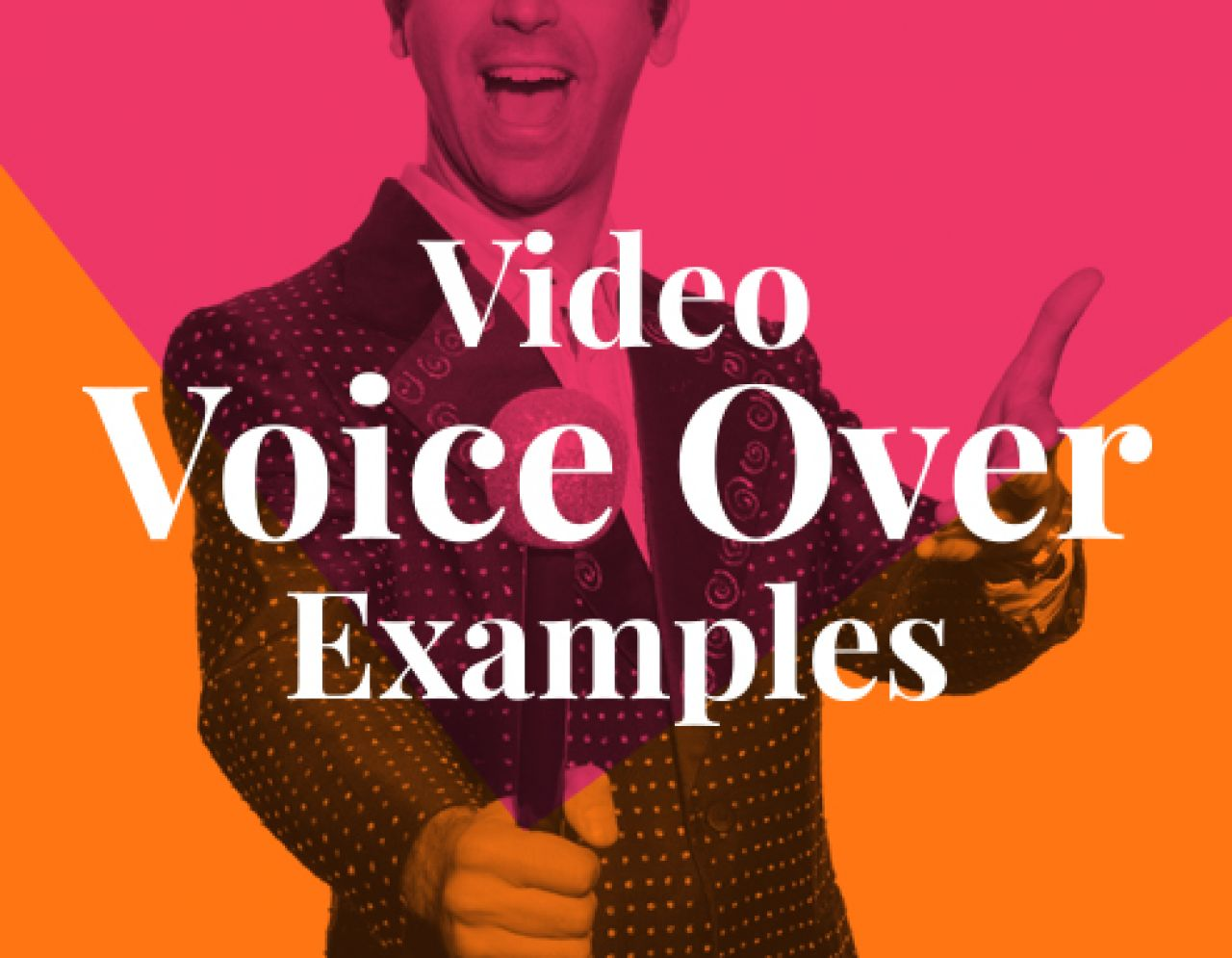 video voice over examples