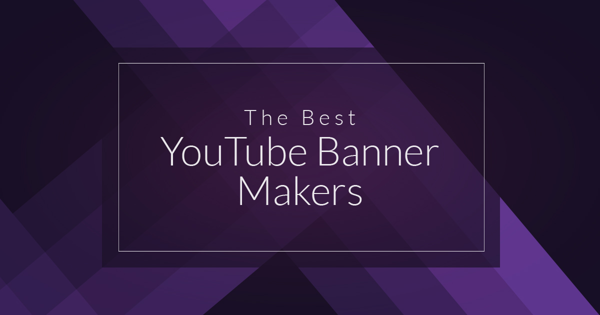 The Best Youtube Banner Makers For Next Level Channel Art Biteable