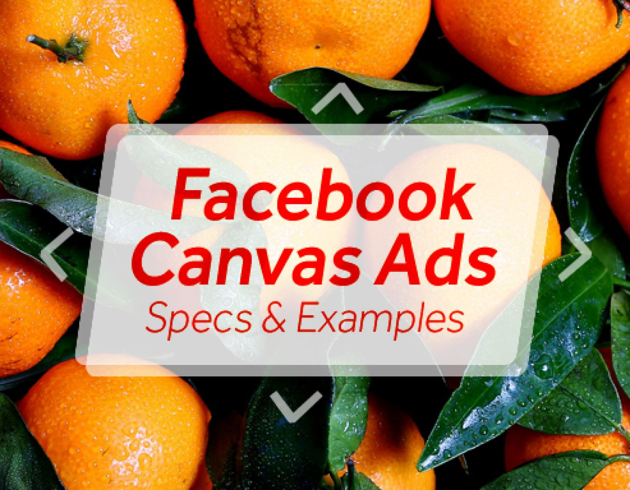 facebook ad canvas how to create