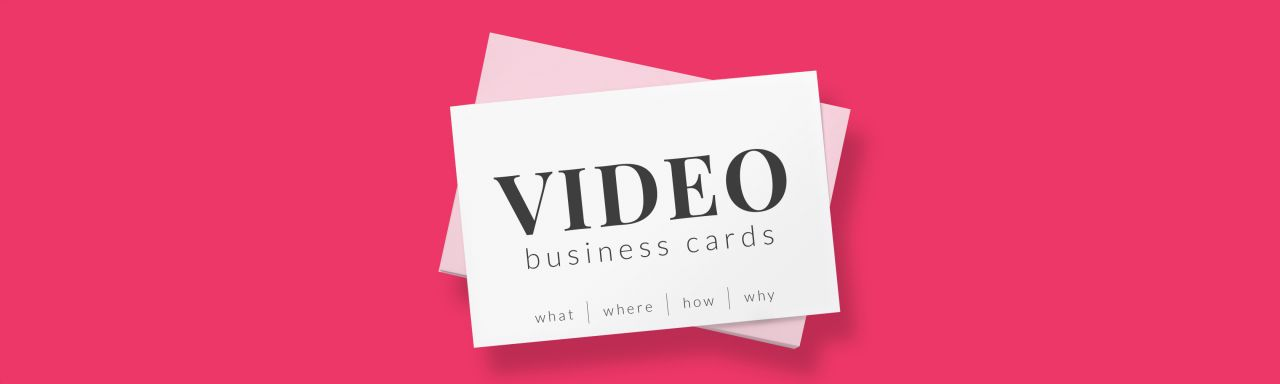 Video Business Cards - Biteable