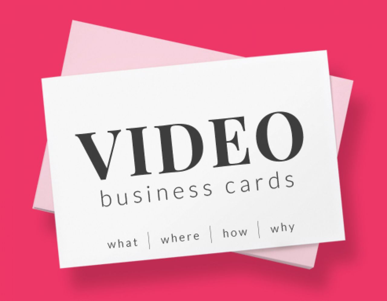 Video Business Cards | Biteable