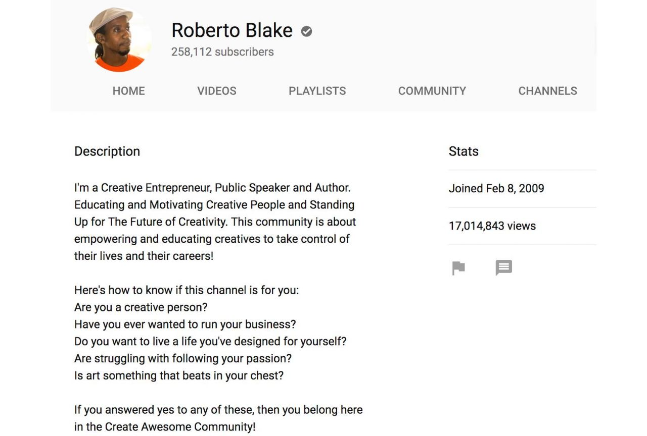 Write the perfect youtube description biteable or like roberto blake you can help your community self identify by asking questions this is a great approach to inspire the people who will get the most wajeb