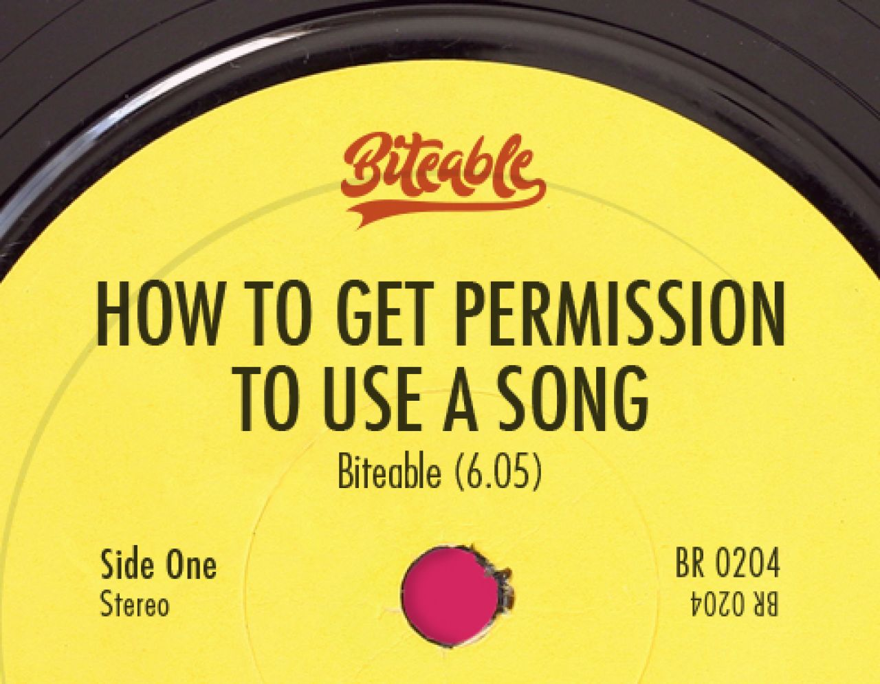 How To Get Permission To Use A Song Biteable