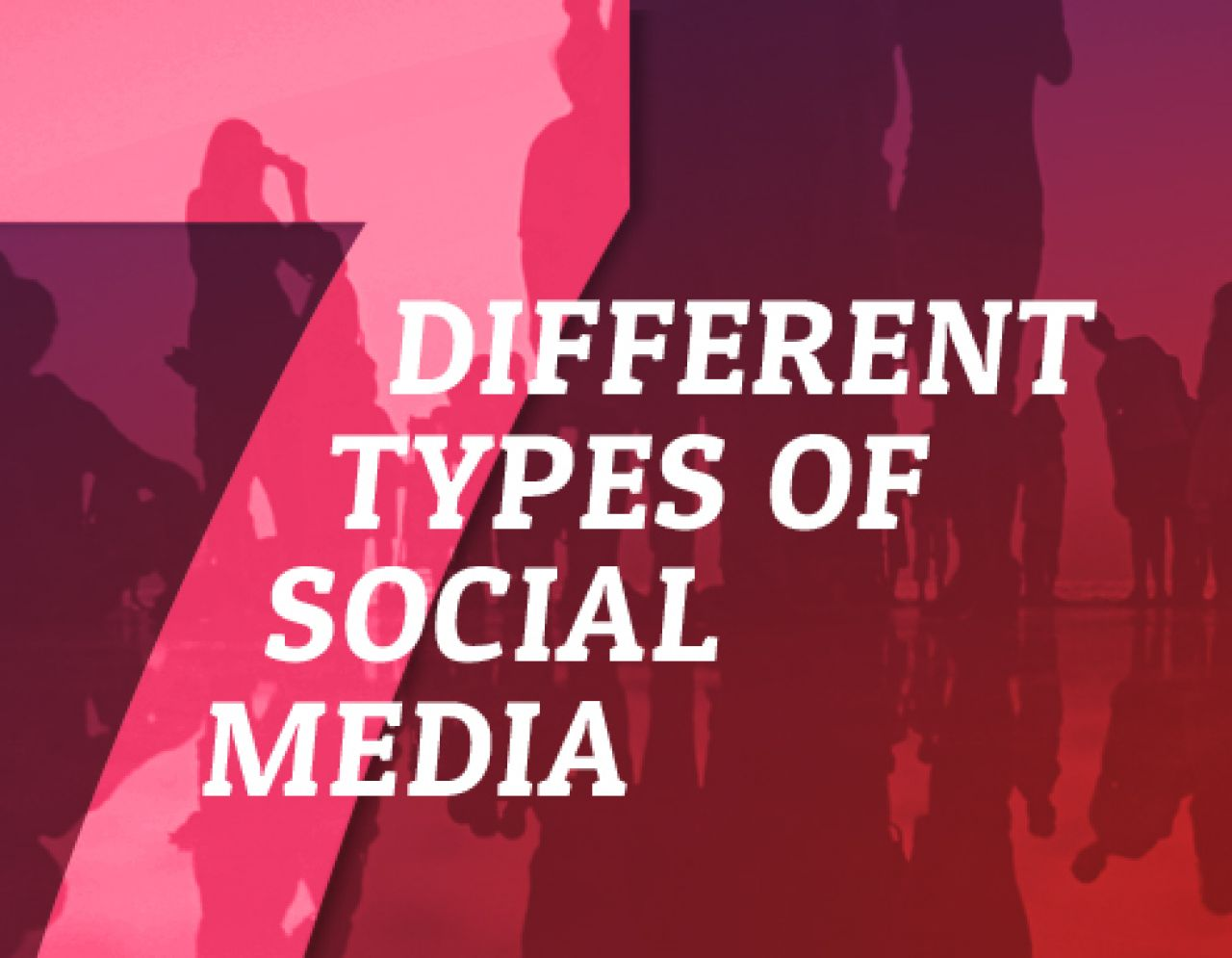 The 7 Different Types Of Social Media | Biteable
