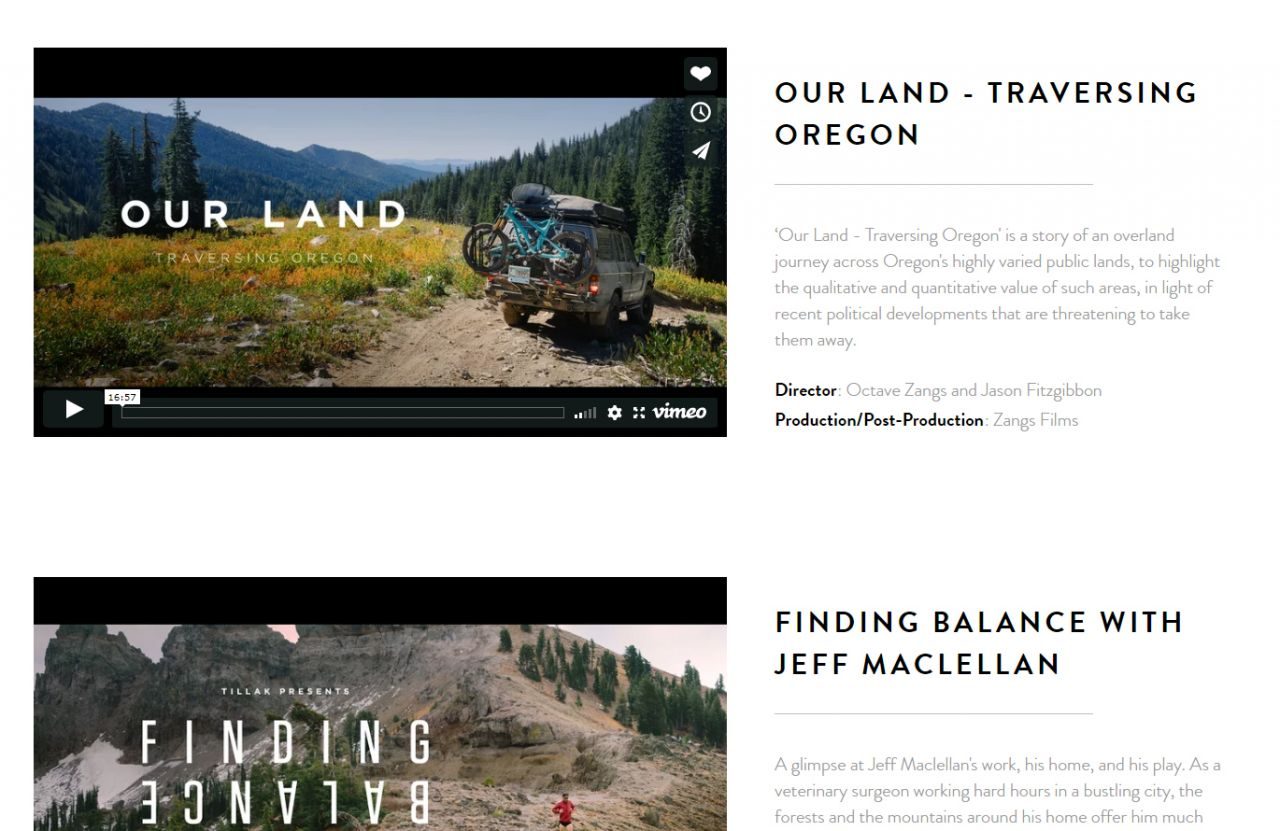 Video Portfolios Examples And Templates Biteable