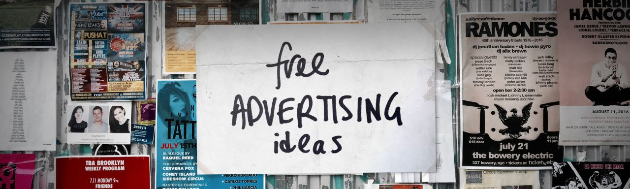 40 Free Advertising Ideas That Are Sneaky But Brilliant