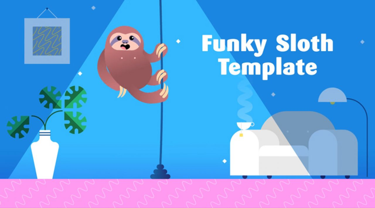 Funky Sloth Ad