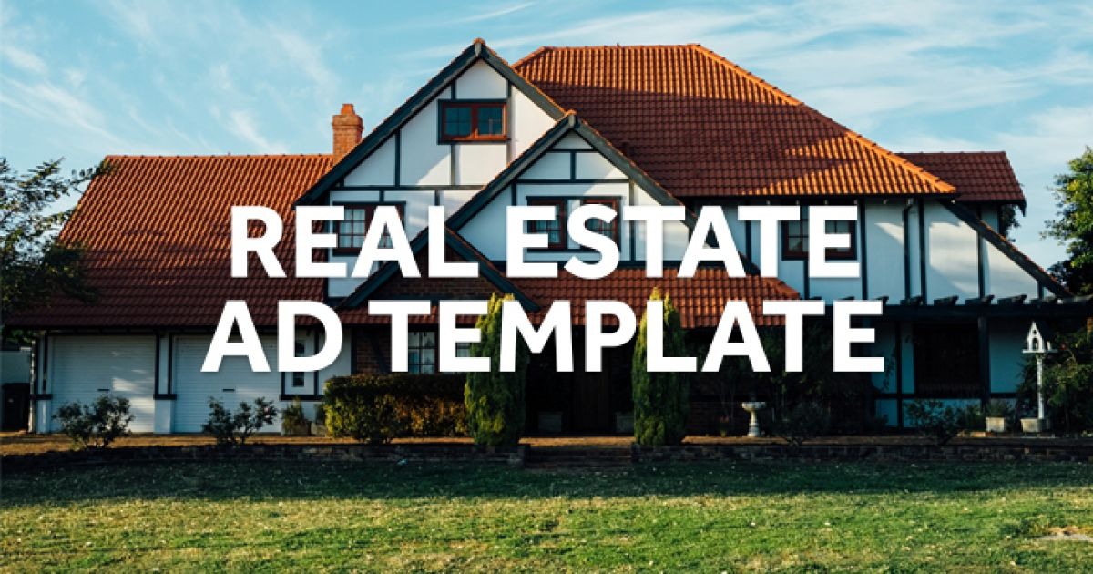 real estate video marketing ad template