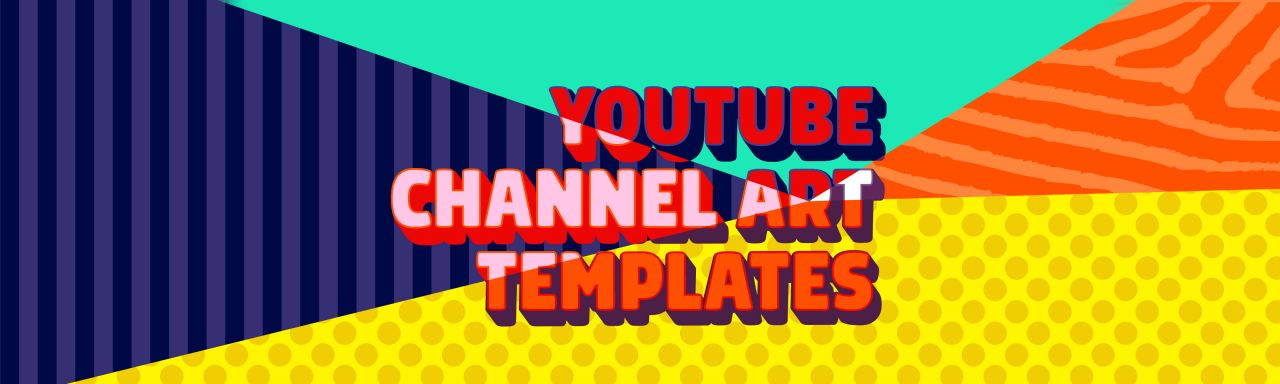 Awesome YouTube Channel Art Templates | Biteable