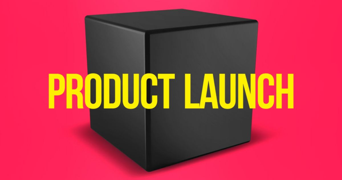 product launch video template