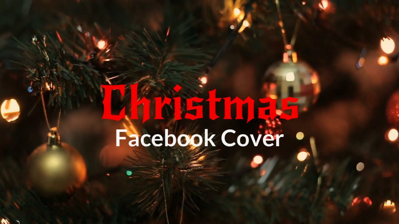 Christmas Facebook Cover Video Template Biteable